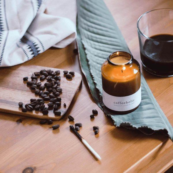 GreenWay Szójagyertya Coffeeholic Vegan