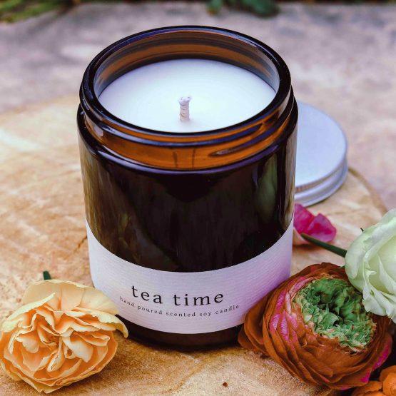 greenway szója gyertya szójagyertya tea time
